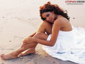 Bollywood Beauty at the Beach