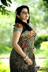 Hot Malayalam actress Roma showing naval saree stills and more gallery pictures