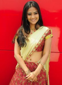 Actress Aditi Sharma Hot Navel Show Stills wallpapers