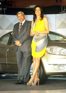 Fiat Linea T Jet launched By 'Sushmita Sen' unseen pics