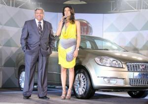 Fiat Linea T Jet launched By 'Sushmita Sen' hot photos